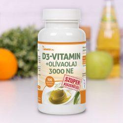 Netamin D3-vitamin+Olivaolaj 3000 NE SZUPER