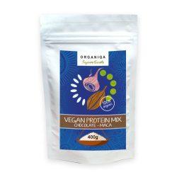 Organiqa bio csokoládé-maca vegán fehérje 400 g