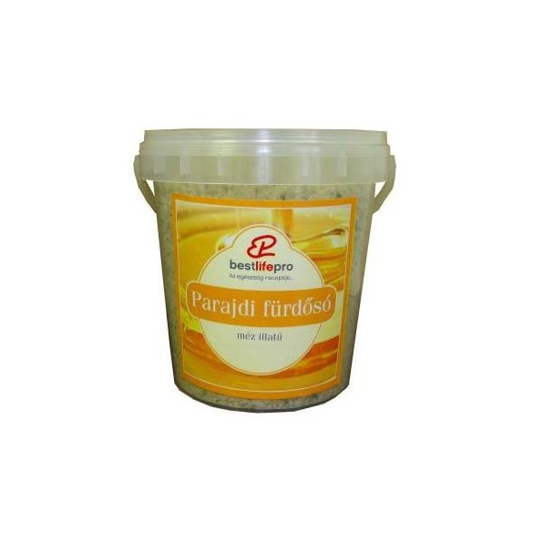 Bestlifepro parajdi fürdősó méz 1000 g