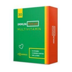 Pharmax immun focus multivitamin filmtabletta 30 db
