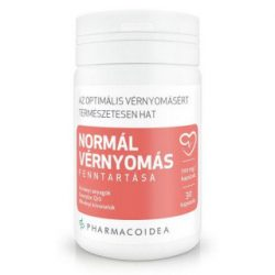 Pharmacoidea normál vérnyomás fenntartására kapszula 30 db
