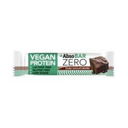 Absorice absobar zero vegan proteinszelet chocolate brownie 40 g