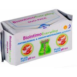 Biointimo duo pack tisztasági betét 2x20 db 40 db