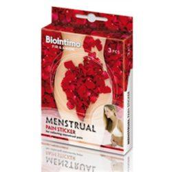 Biointimo menstruációs fájdalomcsillapitó tapasz 3 db