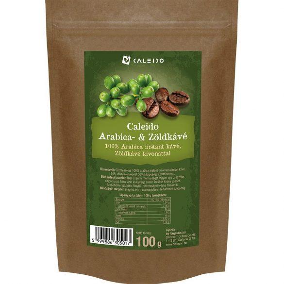 Caleido instant arabica zöld kávé 100 g