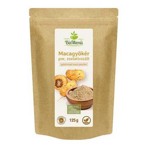 Bio menü bio zselatinizált maca-gyökér por 125 g