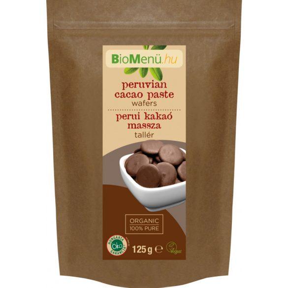 Bio menü bio kakaómassza tallér perui 125 g