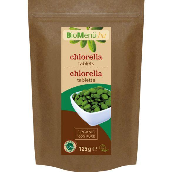 Bio menü bio chlorella tabletta kb.250 db 125 g
