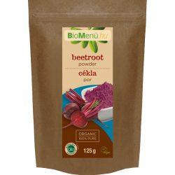 Bio menü bio cékla por 125 g