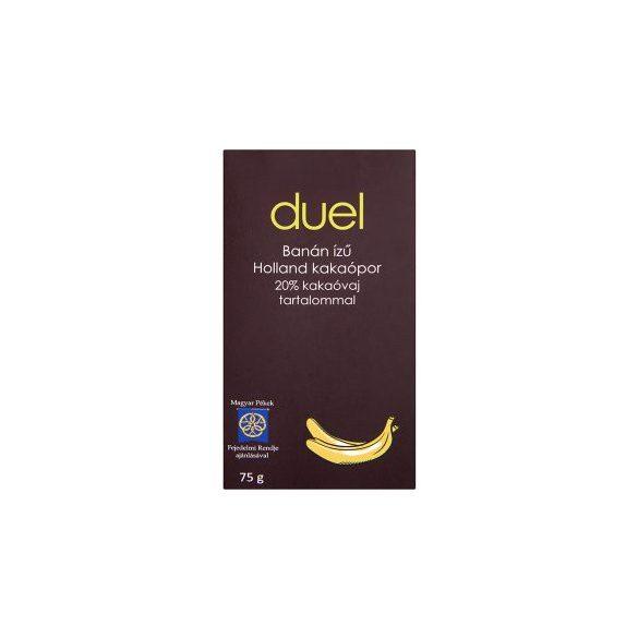 Duel holland kakaópor banán ízű 75 g 75 g