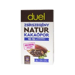 Duel zsírszegény natúr kakaópor 125 g