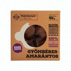 Majomkenyér gyömbéres-amarantos paleokeksz 50 g