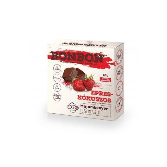 Majomkenyér epres-kókuszos bonbon 42 g