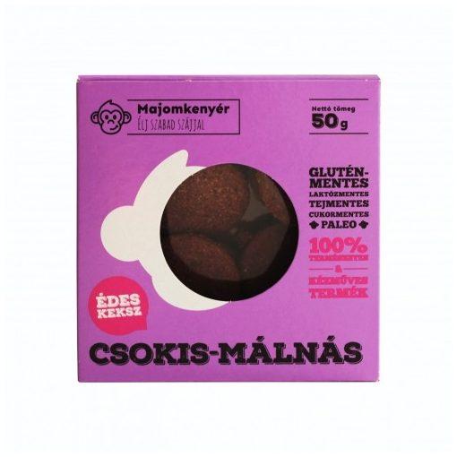 MAJOMKENYÉR PALEOKEKSZ CSOKI-MÁLNA 50G 50 g