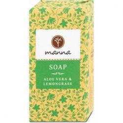 Manna aloe vera-citromfű szappan 90 g