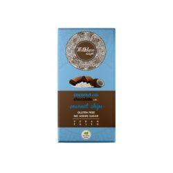 Health Market milkless delight kókusztejes csokoládé kókuszchipsszel édesítőszerrel 80 g