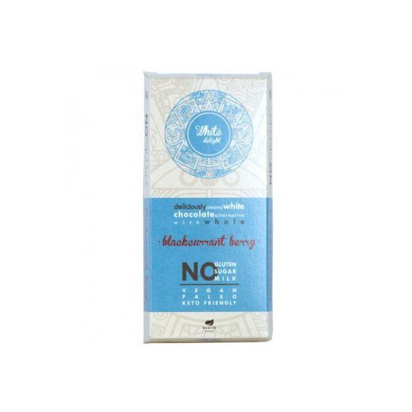 Health market paleo white delight fehér tábla feketeribizlivel 80 g