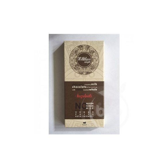 Health market paleo milkless delight csokoládé mogyorós 80 g