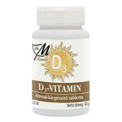 Dr.m prémium d3-vitamin tabletta 120 db