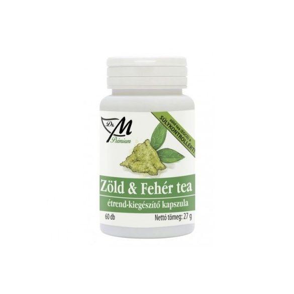 Dr.m prémium zöld és fehér tea kapszula 60 db