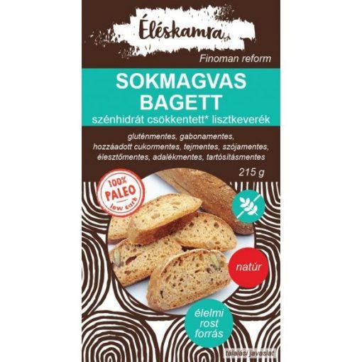 ÉLÉSKAMRA SOKMAGVAS PALEO BAGETT LISZTK. 215 g