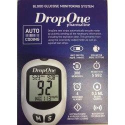 Drop One vércukorszint mérő szett