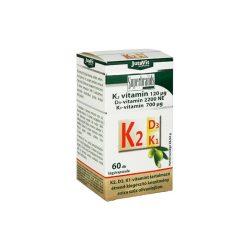 Jutavit K2 (120µg) + D3 (2200NE) + K1 (700µg) vitamin lágyzselatin kapszula 60 db