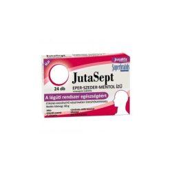 Jutavit jutasept eper-szeder-mentol ízű szopogató tabletta 24 db