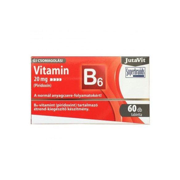 Jutavit vitamin B6 20 mg (Piridoxin) 60 db