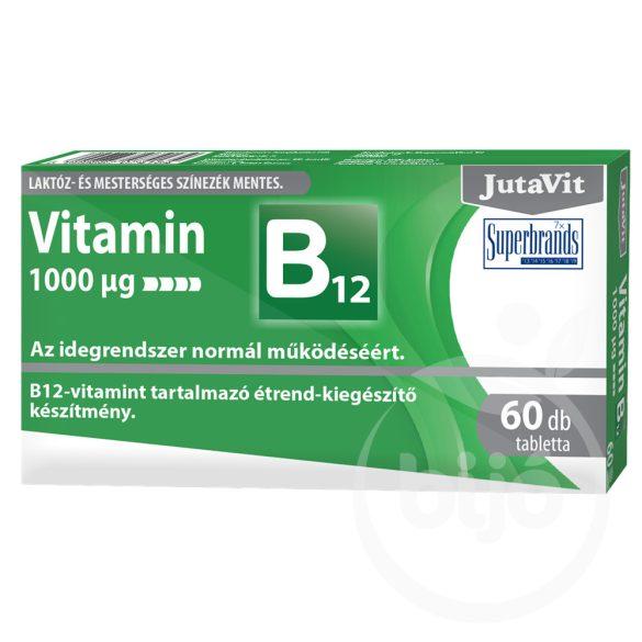 Jutavit B12-vitamin 1000µg 60 db