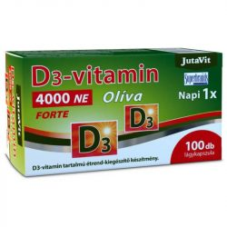 Jutavit d3-vitamin 4000 NE olíva 100 db