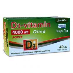 Jutavit d3-vitamin 4000 NE olíva 40 db