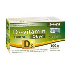 Jutavit d3-vitamin 3000 NE olíva 100 db