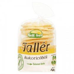 Nett Food kukorica tallér gluténmentes 100 g