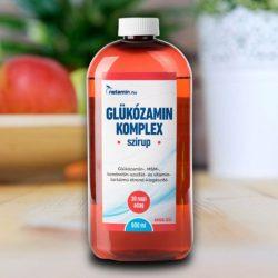 Netamin Glükózamin Komplex Szirup Epres 900 ml