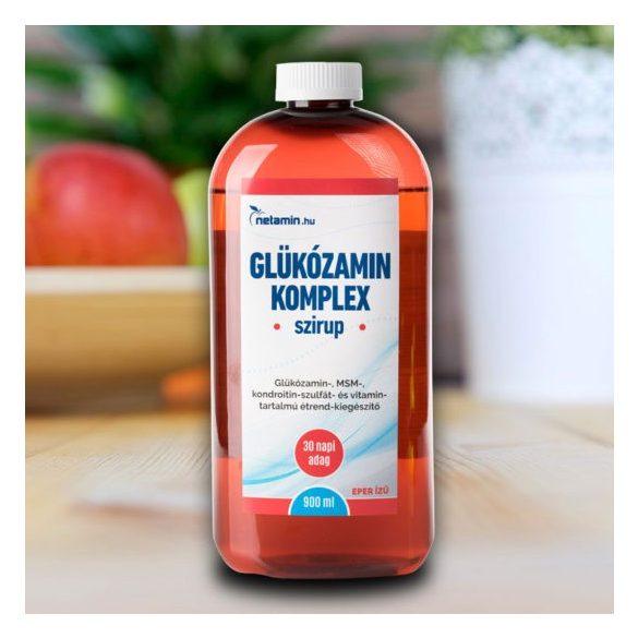 Netamin Glükózamin komplex szirup 900 ml