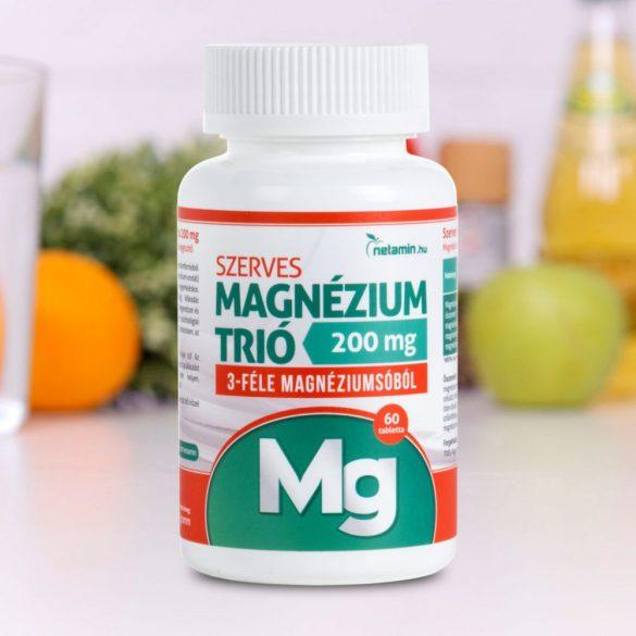Netamin Szerves Magnézium trió tabletta
