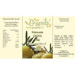 Grapoila OLÍVAOLAJ extra szűz, hidegen sajtolt (származási hely: Spanyolország) 1000 ml PET