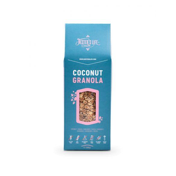Hesters life coconut granola kókuszos granola 320 g