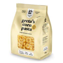 Its us gretas gluténmentes kukorica száraztészta macaroni szarvacska 200 g
