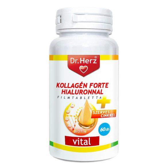 DR Herz Kollagén Forte Hialuronnal 60 db tabletta #GJ
