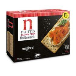 Nairns gluténmentes teljeskiőrlésű 76% rostban gazdag zab lapkenyér original 150 g
