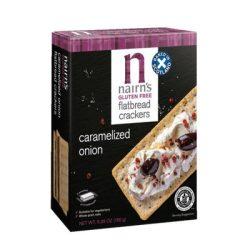 Nairns gluténmentes teljeskiőrlésű 75% rostban gazdag zab lapkenyér hagymás 150 g