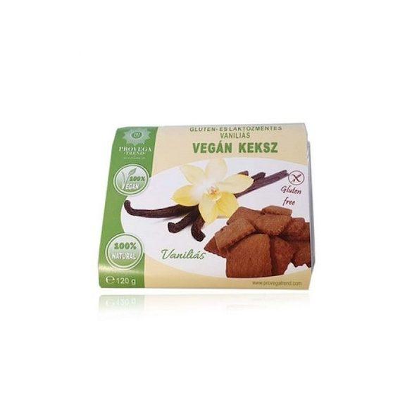 Provegatrend gluténmentes vaníliás vegán keksz 120 g