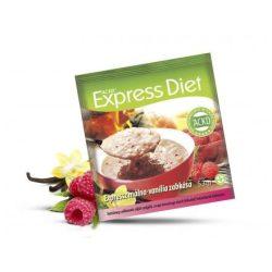 Natur Tanya® Expressz Diéta - Friss málna - Illatos vanília zabkása. Zsírégető Antikatabolikus ketogén étel.