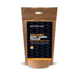 Biocom Kollagén+Rost+Amino Italp mangó ízű utántöltős 510 gramm
