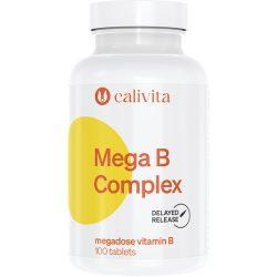 CaliVita Mega B Complex tabletta Megadózisú B-vitamin 100db
