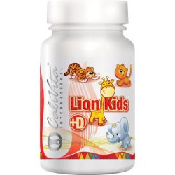 CaliVita Lion Kids D rágótabletta Multivitamin gyerekeknek 90db