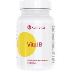 CaliVita Vital B tabletta Multivitamin B-vércsoportúaknak 90db