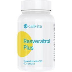CaliVita Resveratrol PLUS kapszula Resveratrol koenzim-Q10-zel 60db